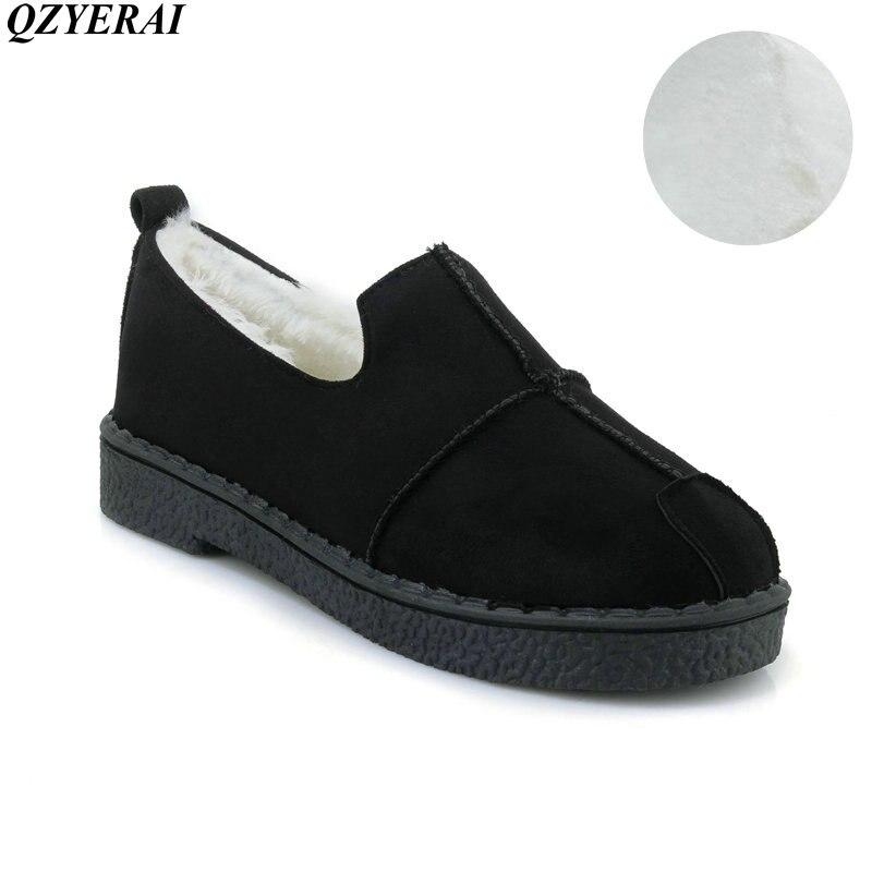 QZYERAI  New Fashion Women Snow Boots Genuine Sheepskin Leather Snow Boots Natural Fur Winter Boots Warm Wool Women Boots
