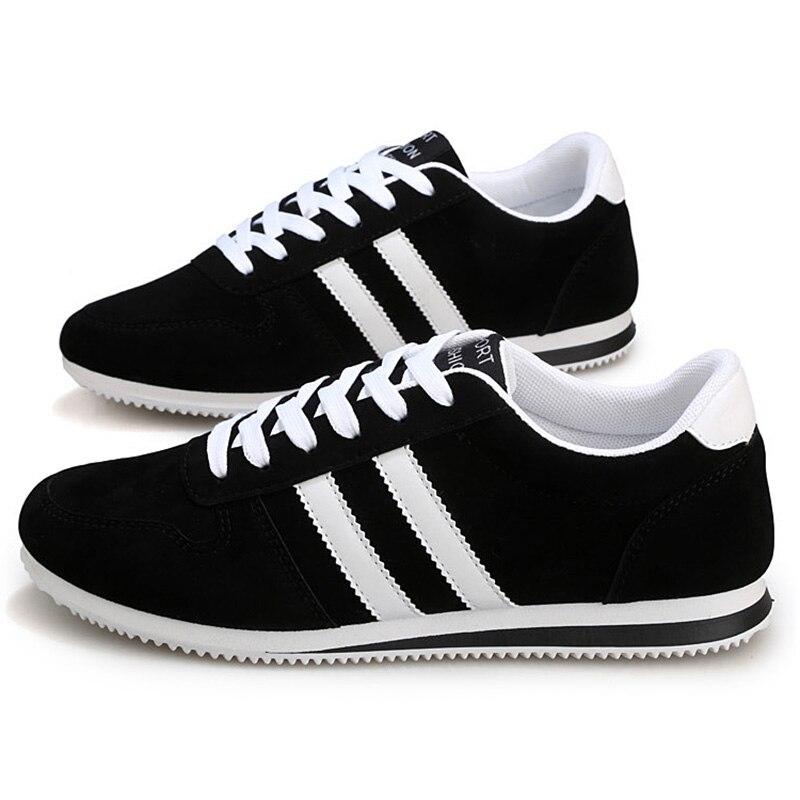 FGGS Caliente versión Coreana masculina zapatos ocasionales Respirables Negro 39