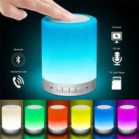 LED Dokunmatik Başucu Lambası-Bluetooth Hoparlör, dim Renk Gece Işık, açık Masa Lambası Akıllı Dokunmatik Kumanda ile, en iyi Hediyeler
