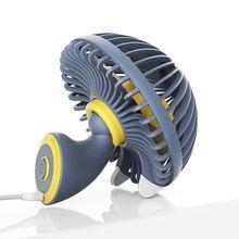 2 speed adjustable Desk Fan Quiet USB Mini Personal Cooling for Office & Desktop