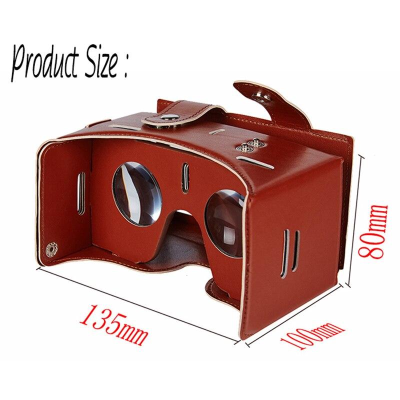 98eaa0f0129b DIY Ultra Clear Google Cardboard VR BOX 2.0 Virtual Reality 3D ...