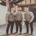 Homens Colete Terno Colete de Tweed do vintage Slim fit Desgaste do noivo Colete Coletes À Prova de Colete de casamento Dos Homens Venda Quente Vestido Novo Estilo de Forma Original