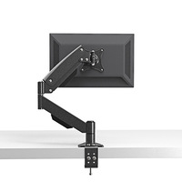 Desktop Clamping Mount And Grommet Mount Gas Spring Full Motion LCD LED Monitor Holder TV Mount Loading 10kgs