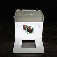 LED photo studio Professional Portable 9'' inch super Mini Kit Photo Photography Studio Light Box Softbox MK20