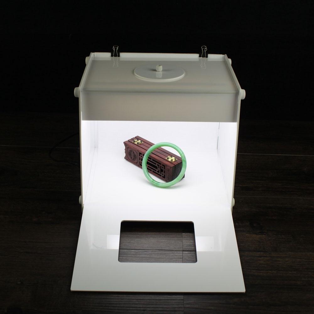 LED photo studio Professional Portable 9 inch super Mini Kit Photo Photography Studio Light Box Softbox