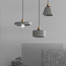 Nordic Retro Led Pendant Lamp Living Room Restaurant Cafe Bar Decor Industrial Lamp Pendant Light Fixtures Lighting Luminaria