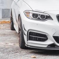 Real Carbon Fiber Front Bumper Side Canards Splitter Spoiler for BMW E46 E90 F30 F32 F33 F36 F10 G30 F06 F12 F13 F15 F16