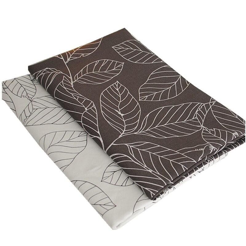 1 unids 150 cm ancho * 50 cm de longitud de tela de lona de algodón tela deja se