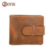 Joyir Crazy Horse Leather Wallet Male Multi-Card Bit Leather Wallets Men Genuine Leather Wallet Long Purse Cow Men Wallets 51920