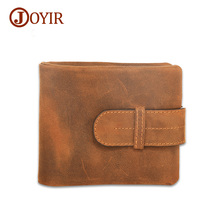 Joyir Crazy Horse Leather Wallet Male Multi-Card Bit Leather Wallets Men Genuine Leather Wallet Long Purse Cow Men Wallets 51920