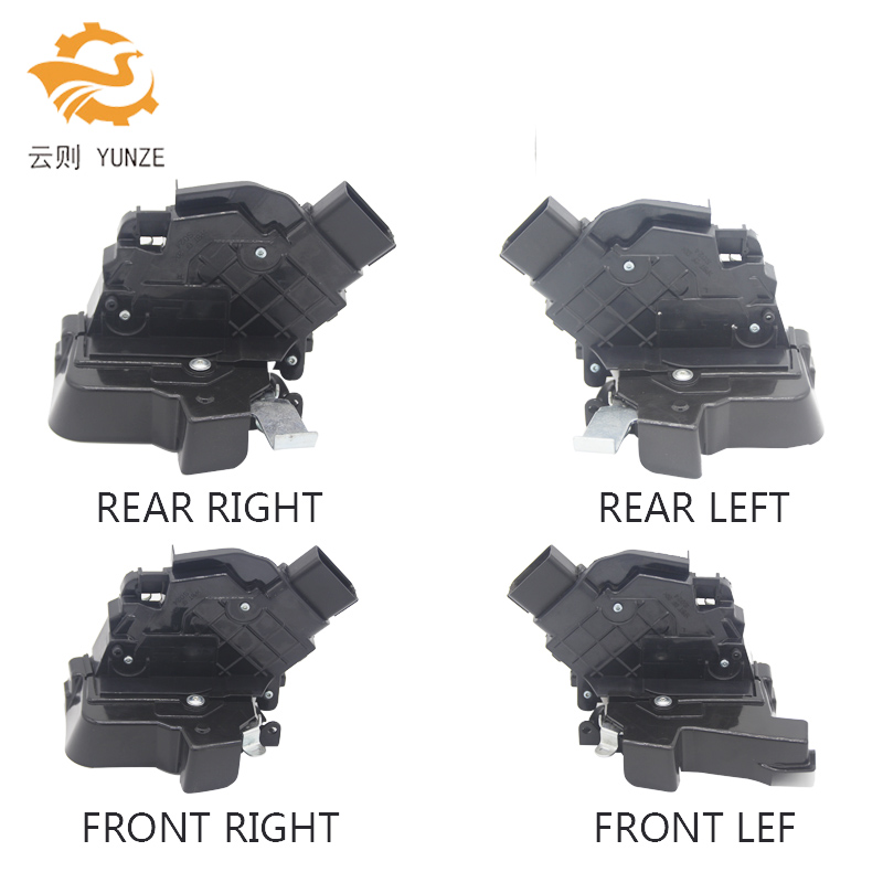 4 SIDES FRONT REAR LEFT RIGHT SIDE CENTRAL DOOR LOCK ACTUATOR FOR FORD FOCUS 1.8 MK2 C-MAX II