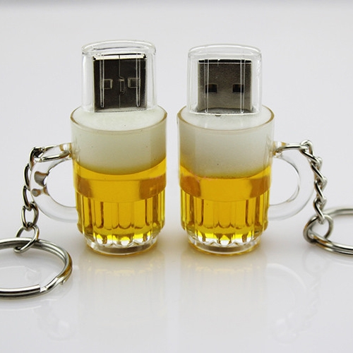 2.0 Beer Cup Usb Stick Pendrives Pen Drive 512GB Pendrive 16GB Mini Usb Flash Drive Memory Stick Disk On Key 64GB 32GB Gifts