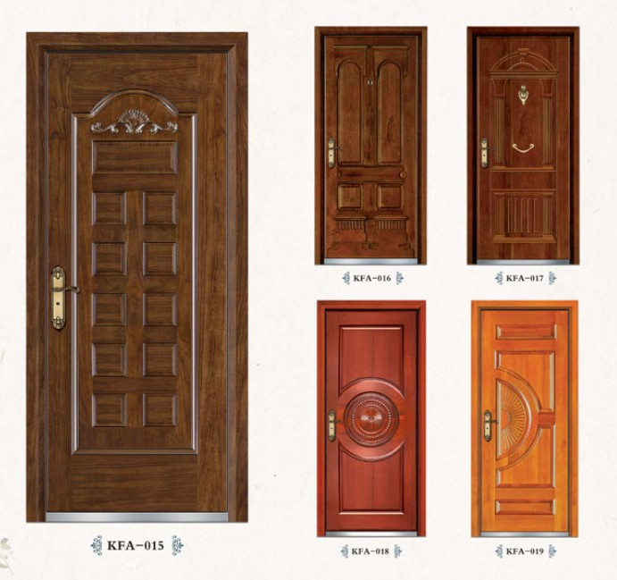Buy carved design mdf wooden interior for Interior house doors designs
