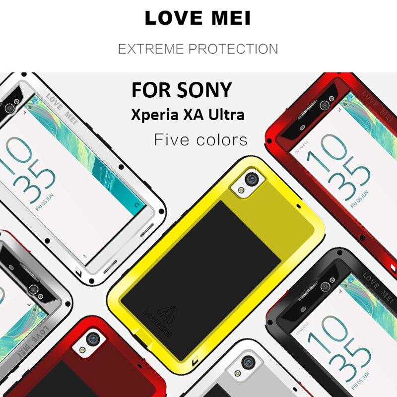Цена за Чехол для Sony Xperia XA алюминиевый Водонепроницаемый Накладка для Sony Xperia XA чехол Обложка Чехол воды/грязь/ Шок/Снег Доказательство Капа случае