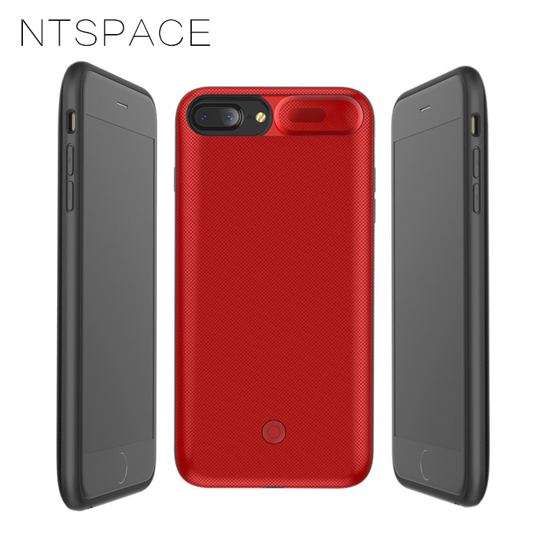 NTSPACE Magnetic Charger Phone Case for iPhone XS MAX XR Battery Charger Case for iPhone X