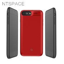 NTSPACE Magnetic Charger Phone Case for iPhone XS MAX XR Battery Charger Case for iPhone X XS Power Bank Charging Cover