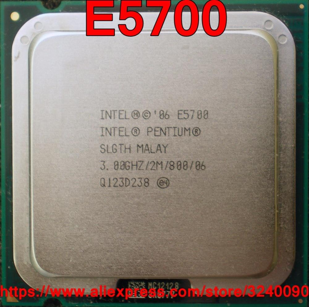 3.00GHz 2-Core LGA775 CPU SLGTH Intel Pentium E5700