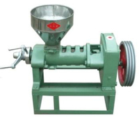 6YL 68c Screw press, 40~50kg/h oil presser, industra screw press machine for sale