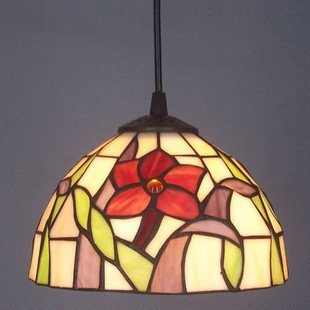 Factory direct 8-inch daffodil chandelier American Bar table lamps Tiffany stylish, glass ornaments Sink windows and lamps