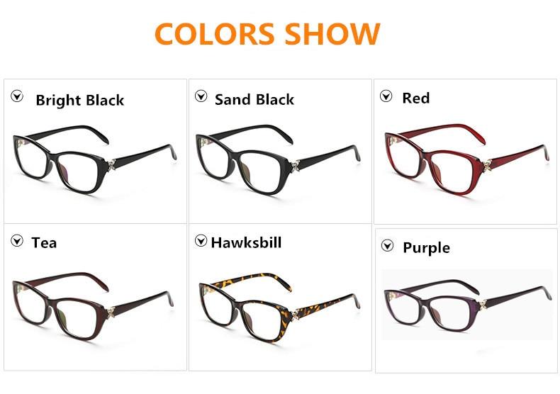 Eye Glasses Әйелдер Рамалары Fashion Brand Designer - Киімге арналған аксессуарлар - фото 6