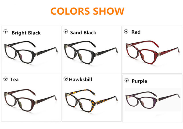 Eye Glasses Women Frames Optical Glasses