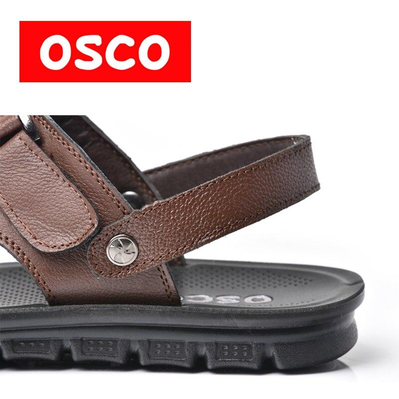 OSCO SUMMER New Men Shoes Fashion Men Casual Breathable Shoes beach sandals #Y011