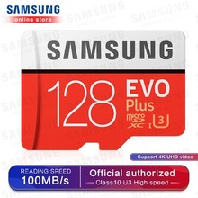 Buy SAMSUNG Memory Card Micro SD 256GB 32GB 64GB 128GB 512G SDHC SDXC Grade EVOplus Class 10 C10 UHS TF SD Cards Trans Flash Microsd directly from merchant!