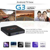 GTMEDIA G3 Alpha smart tv box android 7.1, 4K HDR Quad Core 2G 16G WIFI Google Cast Netflix IPTV Set top Box pk H96mini X96 mini