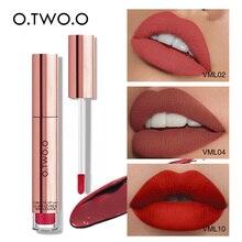 O.TWO.O 12 colors Liquid Lipstick Waterproof Long Lasting Ma