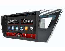 10.1 inch Screen Auto radio car dvd player gps navigation navigator system for Toyota Corolla 2013-2015 with Android 5.1.1