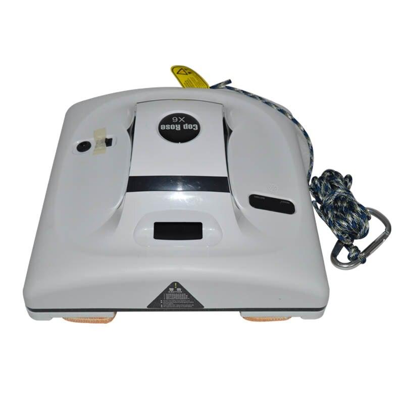 Aspirateur de fenêtre robot de nettoyage de vitres intelligent télécommande haute aspiration Anti-chute humide laveuse à sec Robot balayeuse 220 V