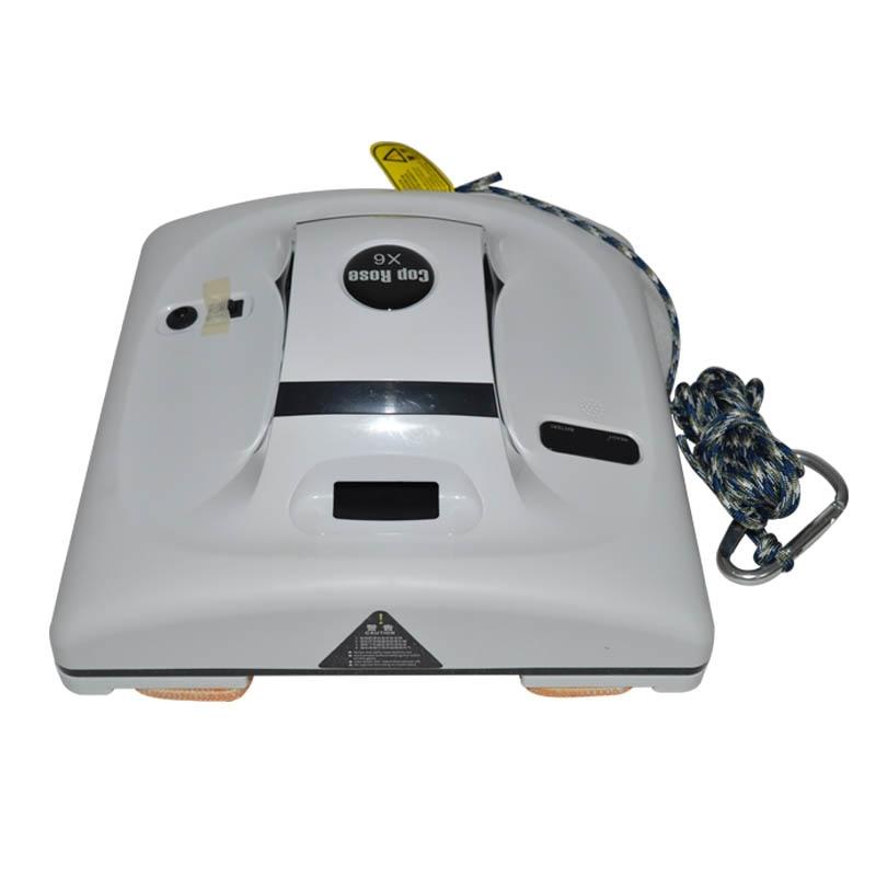 Janela janela robô de limpeza Aspirador de pó Inteligente de Controle Remoto de Alta Sucção Anti-Queda Wet Dry Lavar Vassoura Robô 220 V