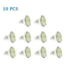10X HRSOD 10 pcs GU4(MR11) 6W 12 SMD 5730 570 LM Warm White / Cool MR11 LED Spotlight DC V