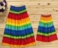 Vestidos de verão Mãe Filha Família algodão olhar combinando Roupas de Praia boêmio vestido de mãe e filha família roupas combinando