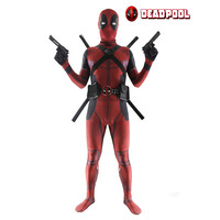 Deadpool Costume Unisex Lycra Spandex Zentai 3D Printed Bodysuit Halloween Funny Adult Kids Supplies With Clothing