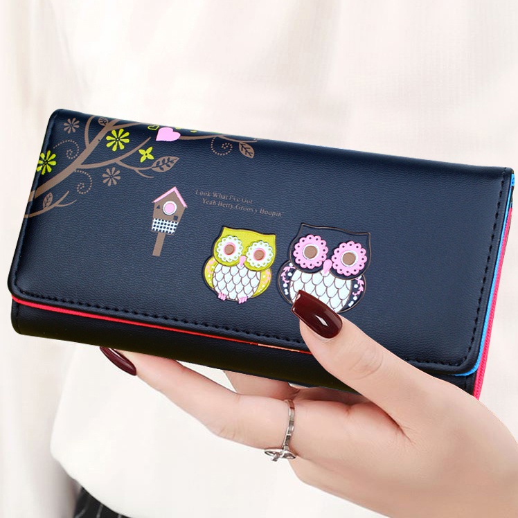 Women Wallets Fashion Lady Coin Purse Pocket  Money Bags Woman Wallet ID Cards Holder Handbags Girls Purses Bag Notecase Poucht