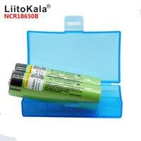 2019 LiitoKala 100% NCR18650B 3,7 V 3400 mah 18650 3400 mah литиевая Перезаряжаемые Батарея для фонарик, чтобы powr Банк