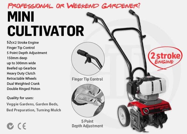 Small Cultivator Parts : New professional quality cc mini tiller garden