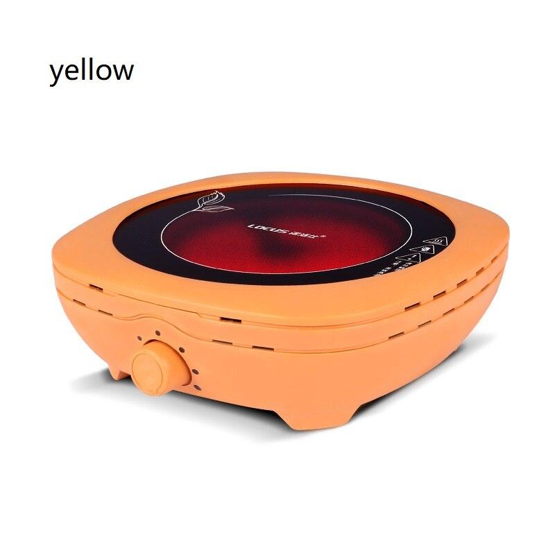 AC220 240V 50 60 Гц Мини электрическая керамическая плита кипячение чая нагревание кофе 800 Вт электрическая плита кофе нагреватель - 4