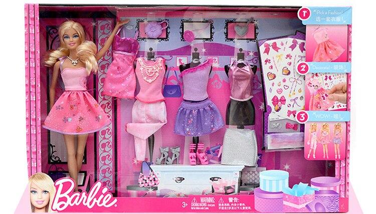 Objective Bambola Fashion No Accessori Come Da Foto Barbie ? Bambole E Accessori