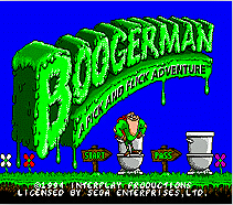 Boogerman A Pick And Flick Adventure Game Cartridge Newest 16 bit Game Card For Sega Mega Drive / Genesis System