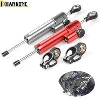 Motorcycle cnc Universal Stabilizer Damper Steering Mounting Bracket For suzuki GSX 650F 750 1000 1250 1400 SV 650 GSX 1400