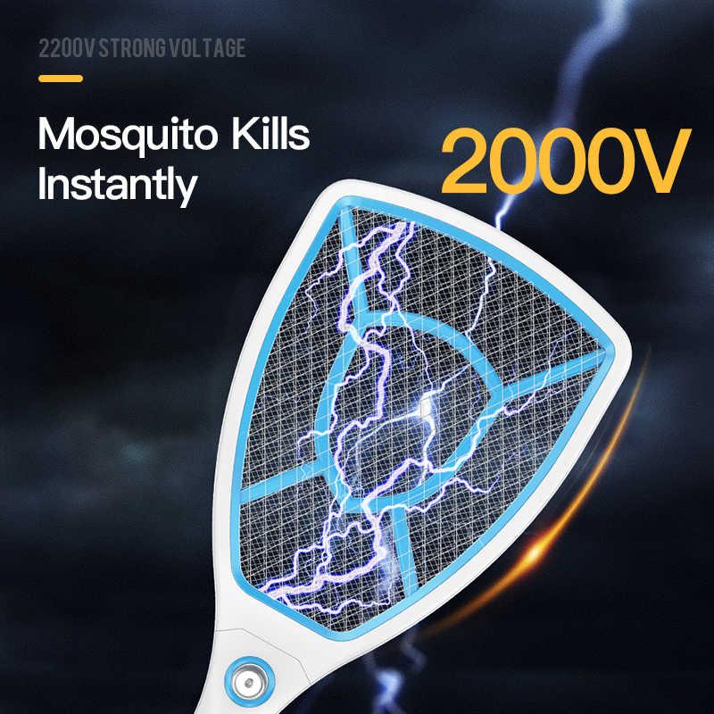 YAGE электрическая ловушка для Комаров Репеллент-отпугиватель насекомых отвергать убийц вредителей отвергать ракетки ловушка Анти Москитная муха 1000mAh