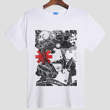 Rock Band Red Hot Chili Peppers T shirt Camisetas Hombre Hot nk Punk Rap Alternative RHCP Red Hot Chili Peppers T shirt