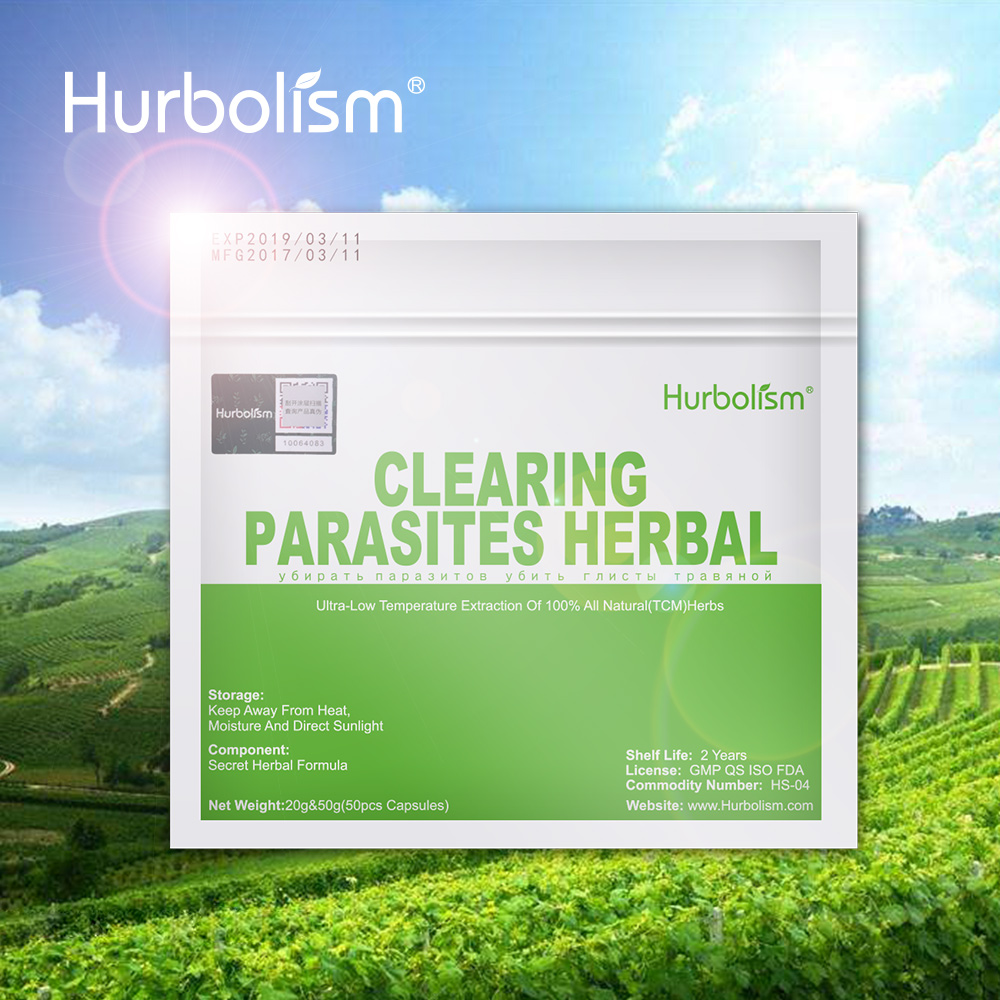 Hurbolism Natural Herbal Powder Formula For Kill Roundworm, Parasites and Protect Internal Organs , all Nature Plants Ingredient