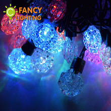 5M 50LED Beads High quality Starry LED string light waterproof christmas light 110V/220V for indoor/outdoor/wedding/party decor