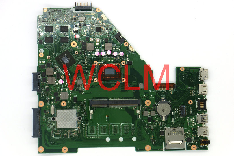 все цены на free shipping NEW original X550C X550CC Laptop motherboard MAIN BOARD 60NB00W0-MBM000 69N0PHM1JA02 SR109 CPU GT720M N14M-GE-S-A2 онлайн