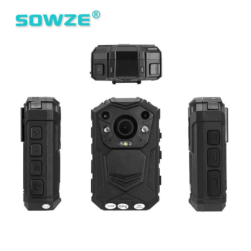 Password-protect High Quality 128G GPS Police Body Worn Camera for Law  Enforcement