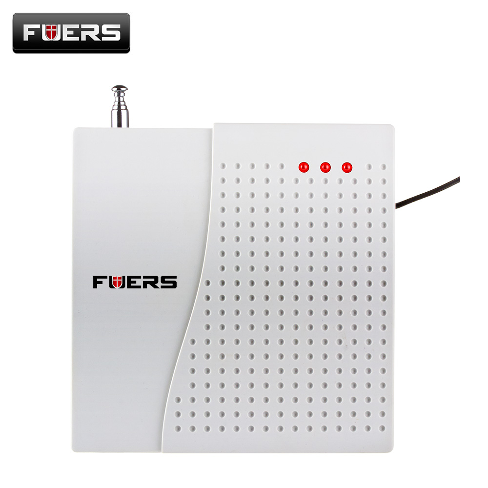 Fuers TD Wireless Signal Repeater Transmitter Enhance Sensors Signal Learning Signal Amplifier Extender For  Alarm System 433MHz