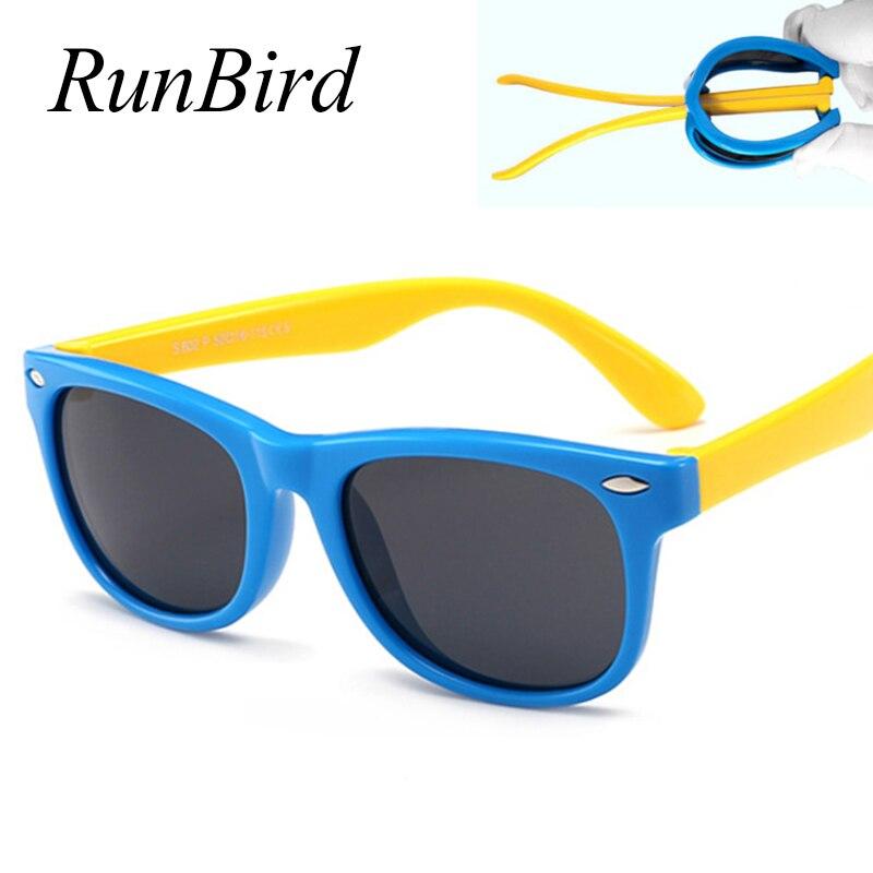 Children Polarized Sunglasses TR90 Baby Classic Fashion Eyewear Kids Sun Glasses Boy Girls Sunglasses UV400 Infant Oculos 1102R